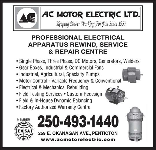 AC Motor Electric services